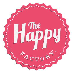 logo e-shop et blog The Happy Factory